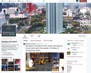 Twitter bordeaux City Bond